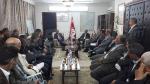 Mabrouk Kourchid supervise les travaux de la  commission de lutte contre les désastres à Tataouine