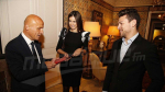 Youssef Msakni accueilli par l'ambassadeur français à Tunis