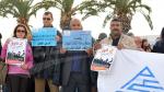 عمادة المهندسين التونسيين تحتج أمام البرلمان