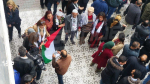 صفاقس: المتظاهرون يحرقون علمي أمريكا وإسرائيل