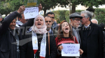 Le Front Populaire organise un rassemblement de solidarité avec Al Qods et les Martyrs