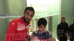 Les joueurs de l'EN au Qatar