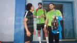 L'EN de Handball effectue sa première séance d'entrainement au Gabon