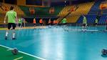 Les entrainements de l'EN Handball avant les quarts de finale de la CAN