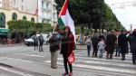 Criminalisation de la normalisation: Manifestation à Tunis