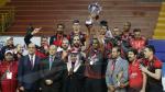 الكرة الطائرة :الريان القطري يتوج بالبطولة العربية على حساب الترجي