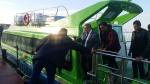 Premier voyage de la ligne maritime entre Sfax et Djerba