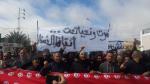 مسيرة بالمظيلة للمطالبة بالتشغيل وايقاف التتبعات العدلية لشبان الجهة