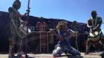 انطلاق  مهرجان الفرح الافريقي بدوز