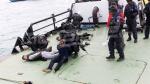 La marine affronte des hommes armés (opération blanche)