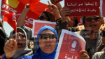 وقفة إحتجاجية لأولياء التلاميذ أمام مجلس النواب بباردو