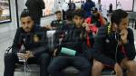 وصول وفد الترجي الرياضي الى مطار الاسكندرية