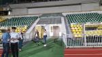 Les Aigles de Carthage découvrent le stade de Kuban