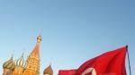 La place rouge occupée par le public tunisien