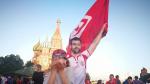 الجماهير التونسية في الساحة الحمراء