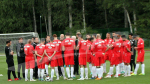 EN:  séance d'entrainement avant le match face au Panama