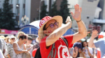 Ambiance 100% tunisienne avant le match contre le Panama