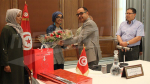 Le ministère des domaines de l'Etat et MosaiqueFM honorent la bachelière Roua Brini