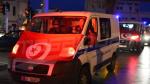 Les dépouilles des martyrs de la Garde Nationale arrivent à l'hôpital Charles Nicolle