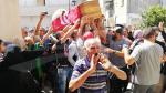 بنزرت : حشود كبيرة في استقبال جثمان الشهيد 'حمزة الدلالي'