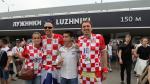 من روسيا : الأجواء خارج ملعب لوجنيكي قبل النهائي