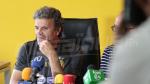 conférence de presse de l'entraineur Khaled Ben Yahia et la séance d'entrainement avant le départ vers l'Alexandrie