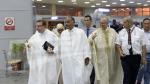 مطار الحجيج : رحلة الوفد الرسمي إلى البقاع المقدسة