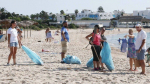 نابل:شباب يتطوعون لتنظيف الشريط الساحلي