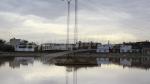 حي التضامن: مياه الأمطار تغمر الطرقات والمنشآت
