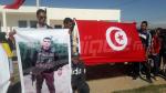 Kasserine: les proches du martyr, Yassine Chahbi, protestent