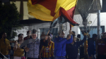 Le public de l'EST fait le show à la cité Ettadhamen à l'occasion de la finale