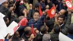 Rassemblement ouvrier à la place Mohamed Ali