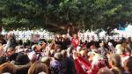 تجمع احتجاجي للأساتذة أمام وزارة التربية