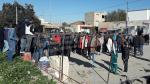 إضراب عام يشلّ معتمديّة بورويس