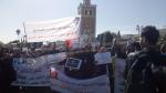 A la Kasbah : Les enseignants universitaires et chercheurs protestent