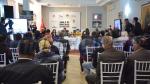 Conférence de presse de Karim Haggui et du ministre du Tourisme