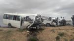 Feriana: un minibus percute 2 voitures, des morts et des blessés