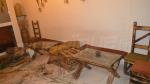 Les dégâts causés par l'attaque contre un café à Radès-Meliane