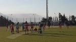 Dernière séance d'entraînement de l'EN avant le match de l'Angola