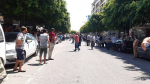 Les premiers instants après l'attentat kamikaze à la rue Charles de Gaulle