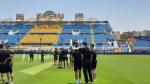 كان 2019 : لاعبو المنتخب يتعرّفون على ملعب الإسماعيلية