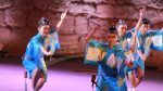 Ballet Japonais Awa Dance au festival de Carthage