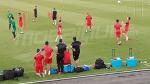 Dernière séance d'entraînement de l'EN avant d'affronter le Nigéria