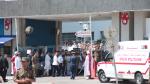 موكب جثمان الرئيس الراحل يغادر المستشفى العسكري