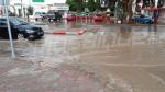 مياه الأمطار تغمر عدد من شوارع سوسة