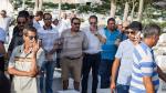Funérailles de la chanteuse Mounira Hamdi