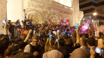 Ambiance à l'Avenue Habib Bourguiba après l'annonce des résultats approximatifs de la présidentielle