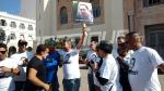 صفاقس : وقفة احتجاجية للمطالبة بالافراج عن رجل الأعمال شفيق الجراية
