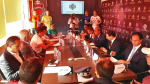 الاجتماع الفني لمباراة الترجي الرياضي التونسي و نادي أولمبيك آسفي