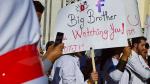 Les jeunes médecins et les étudiants des facultés de médecine protestent